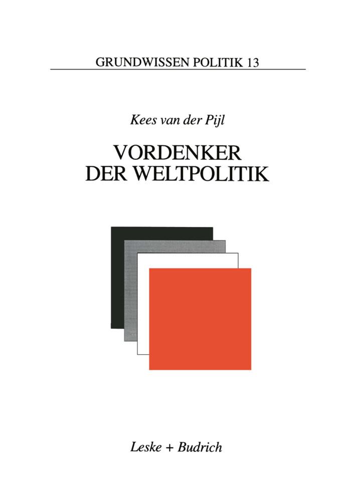Vordenker der Weltpolitik als Buch