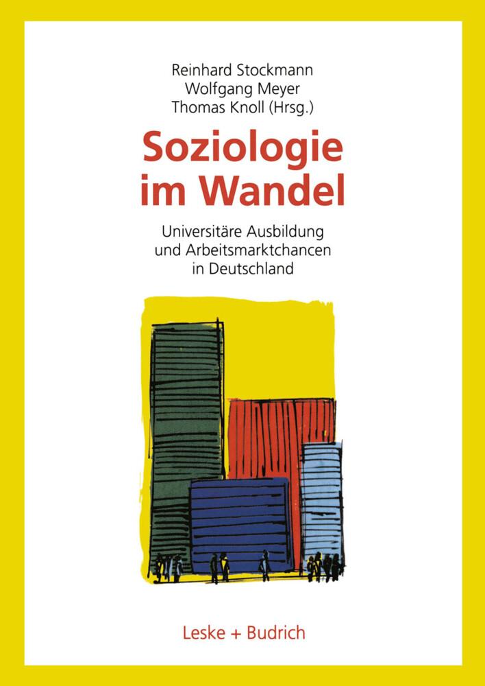 Soziologie im Wandel als Buch