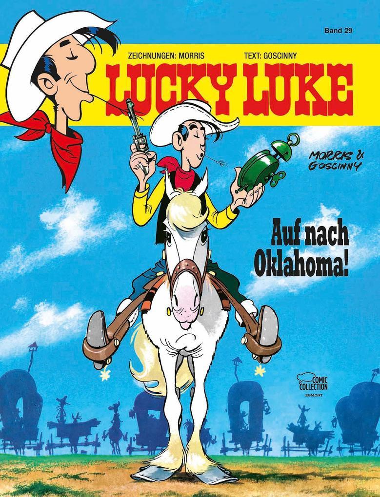 Lucky Luke 29 - Auf nach Oklahoma! als Buch