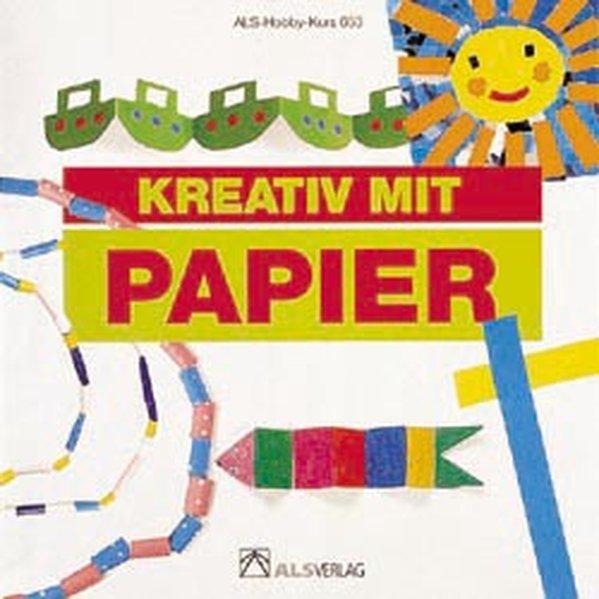Kreativ mit Papier als Buch