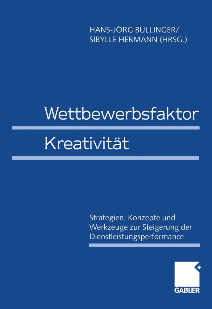 Wettbewerbsfaktor Kreativität als Buch