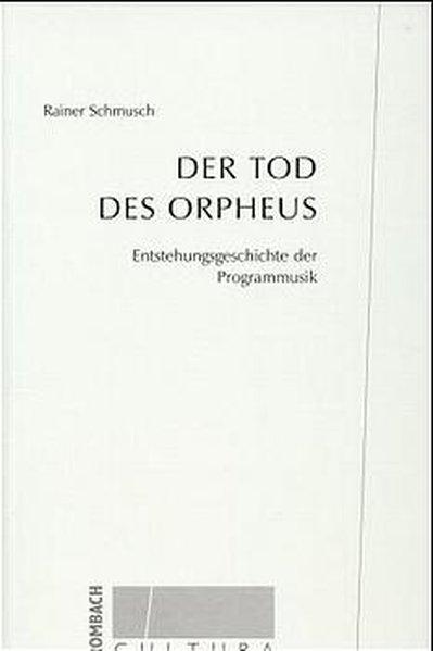 Der Tod des Orpheus als Buch
