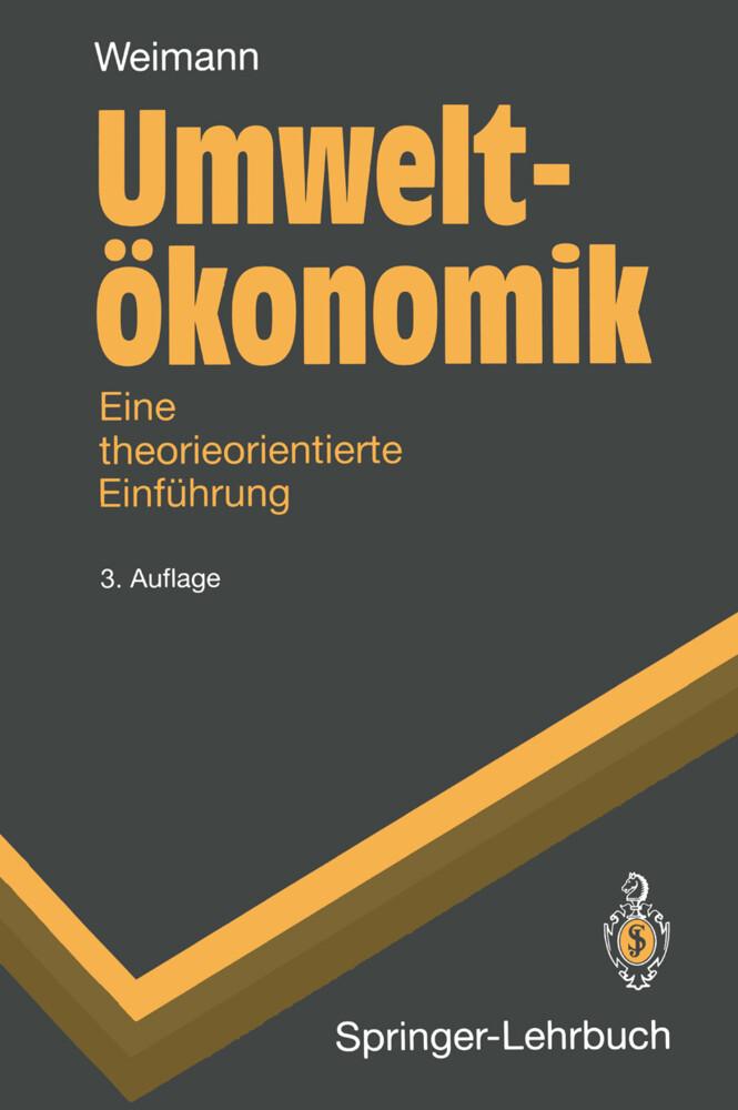 Umweltökonomik als Buch
