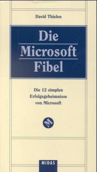 Die Microsoft Fibel als Buch
