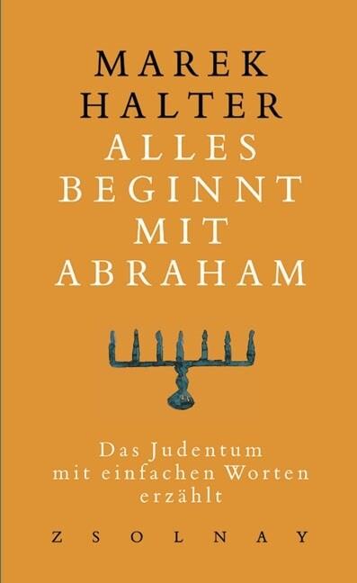 Alles beginnt mit Abraham als Buch