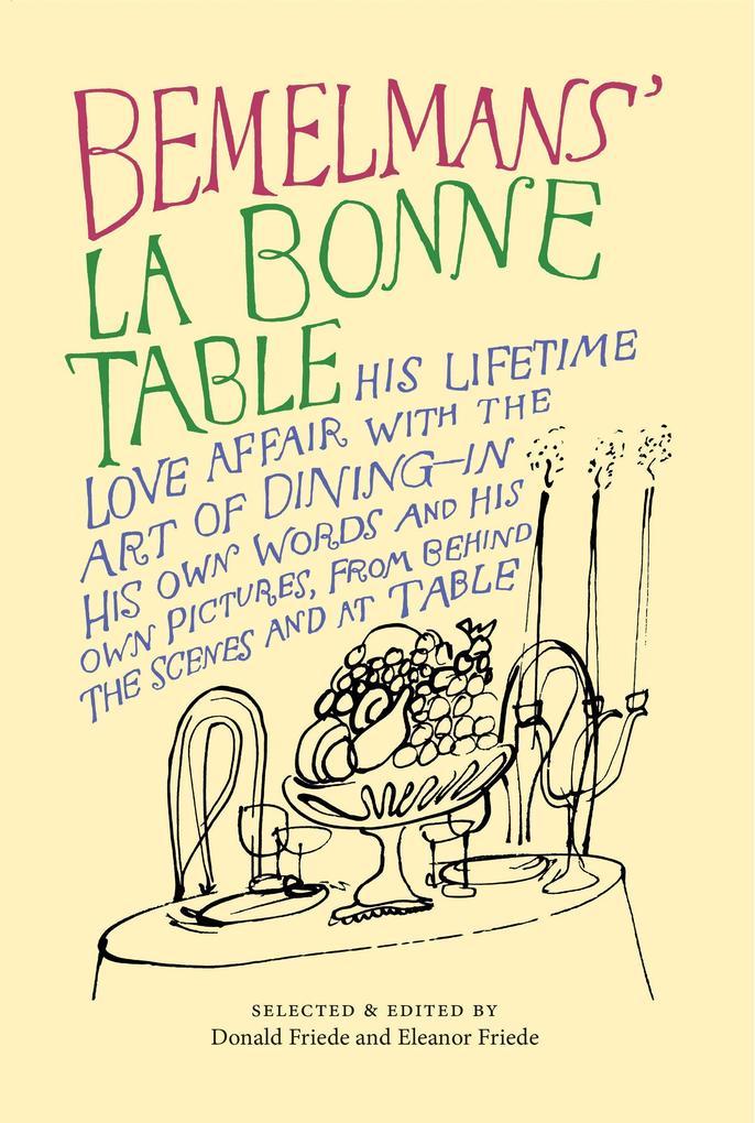 La Bonne Table als Taschenbuch