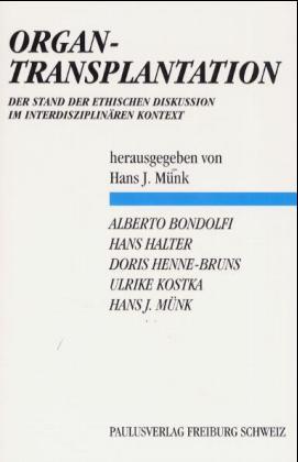 Organtransplantation als Buch