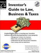 Inventor's Guide to Law, Business & Taxes with CDROM als Buch