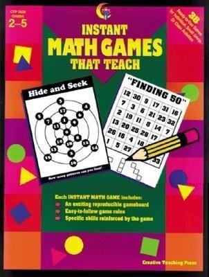 Instant Math Games That Teach: 38 Hands-On Math Games als Taschenbuch