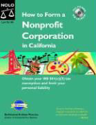 How to Form a Nonprofit Corporation in California with CDROM als Buch