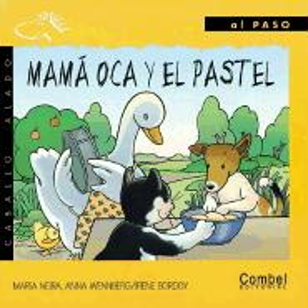 Mama Oca y el Pastel = Mother Goose and the Vowels als Buch