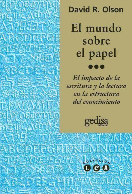 El mundo sobre el papel als Taschenbuch