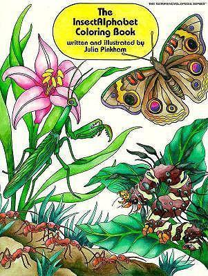Insectalphabet Coloring Book als Taschenbuch
