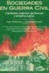 Sociedades en guerra civil : conflictos violentos de Europa y América Latina als Taschenbuch