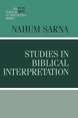 Studies in Biblical Interpretation als Buch