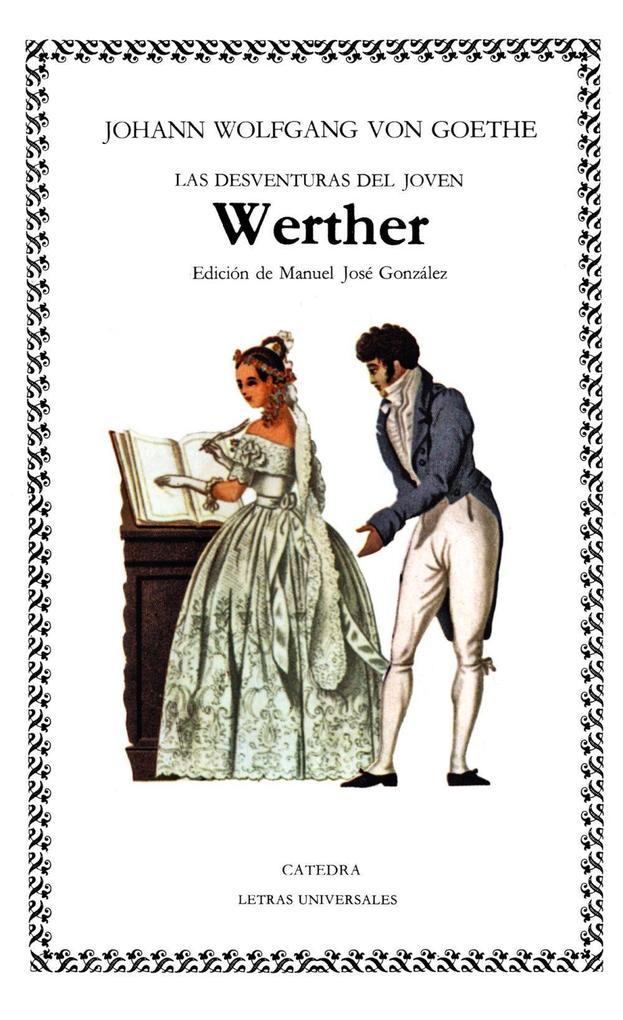 Las desventuras del joven Werther als Taschenbuch