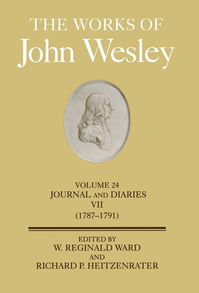 The Works of John Wesley Volume 24 als Buch