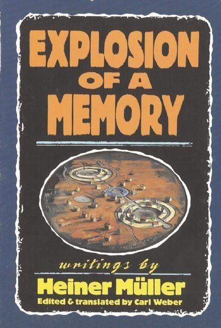 Explosion of a Memory als Buch