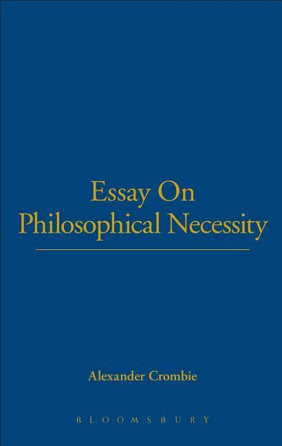 Essay on Philosophical Necessity als Buch
