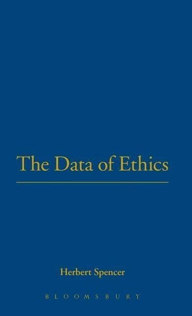 Data of Ethics als Buch