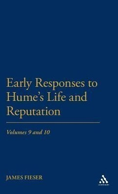 Early Responses to Hume's Life and Reputation: Volumes 9 and 10 als Buch