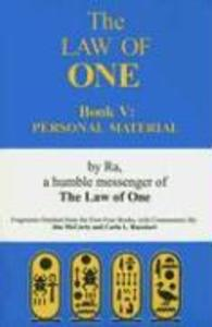 The Law of One Book V als Taschenbuch