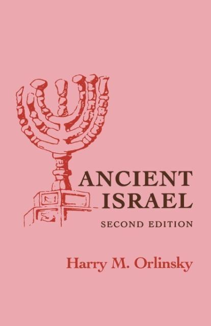 Ancient Israel als Taschenbuch