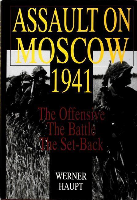 Assault on Moscow 1941 als Buch