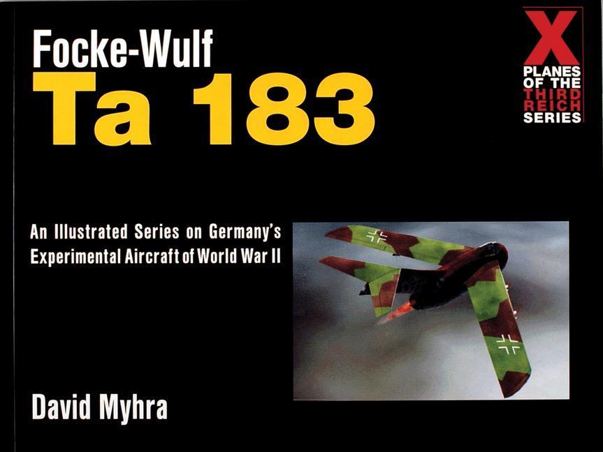 Focke-Wulf Ta 183 als Taschenbuch