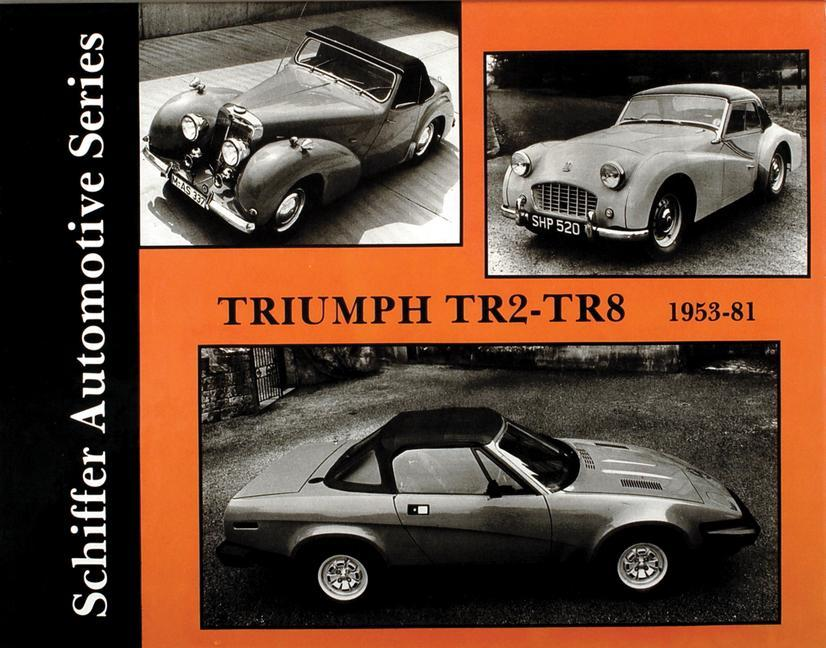 Triumph TR2-TR8 1953-1981 als Buch