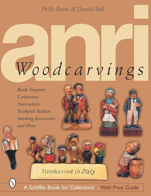 ANRI Woodcarvings als Buch
