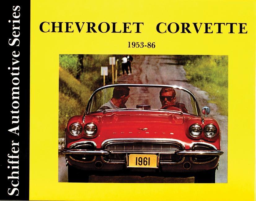 Chevrolet Corvette 1953-1986 als Buch