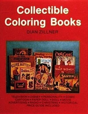 Collectible Coloring Books als Taschenbuch