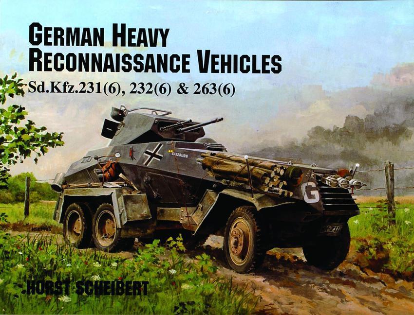 German Heavy Reconnaissance Vehicles als Taschenbuch
