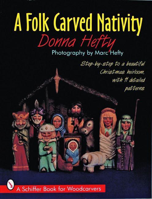 A Folk Carved Nativity als Taschenbuch