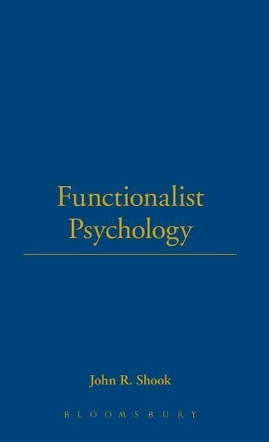 Functionalist Psychology als Buch