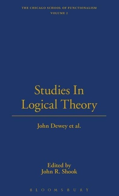 Studies in Logical Theory als Buch
