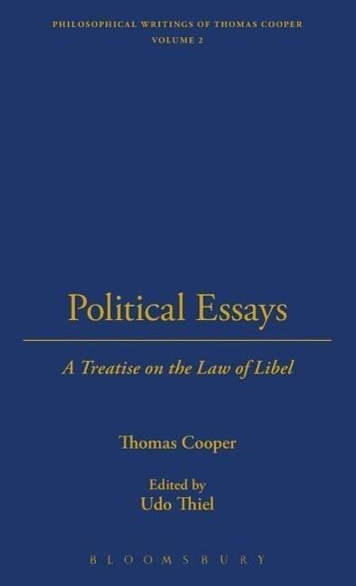 Political Essays als Buch