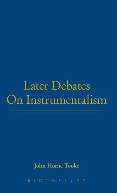 Later Debates on Instrumentalism als Buch