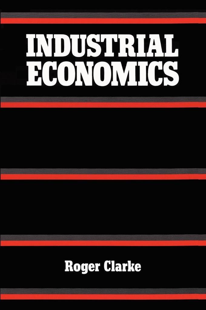 Industrial Economics als Taschenbuch