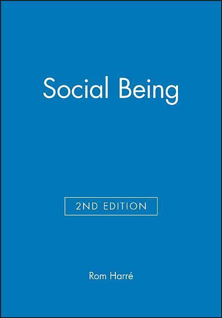 Social Being als Taschenbuch
