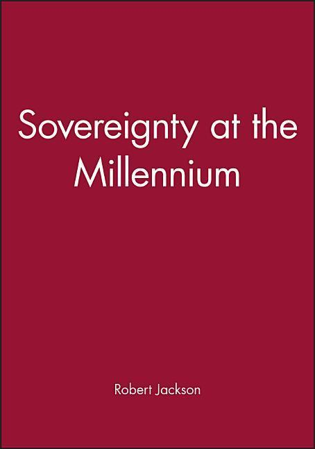 Sovereignty at the Millennium als Buch