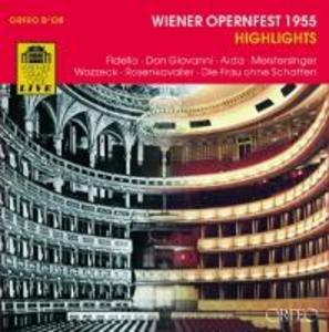 Wiener Opernfest 1955 Highlights als CD