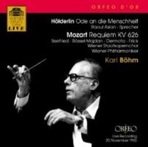 Ode an die Menschheit/Requiem KV 626 als CD