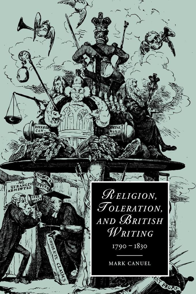 Religion, Toleration, and British Writing, 1790 1830 als Buch