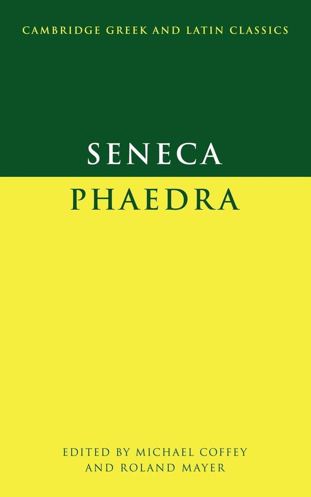 Seneca: Phaedra als Taschenbuch
