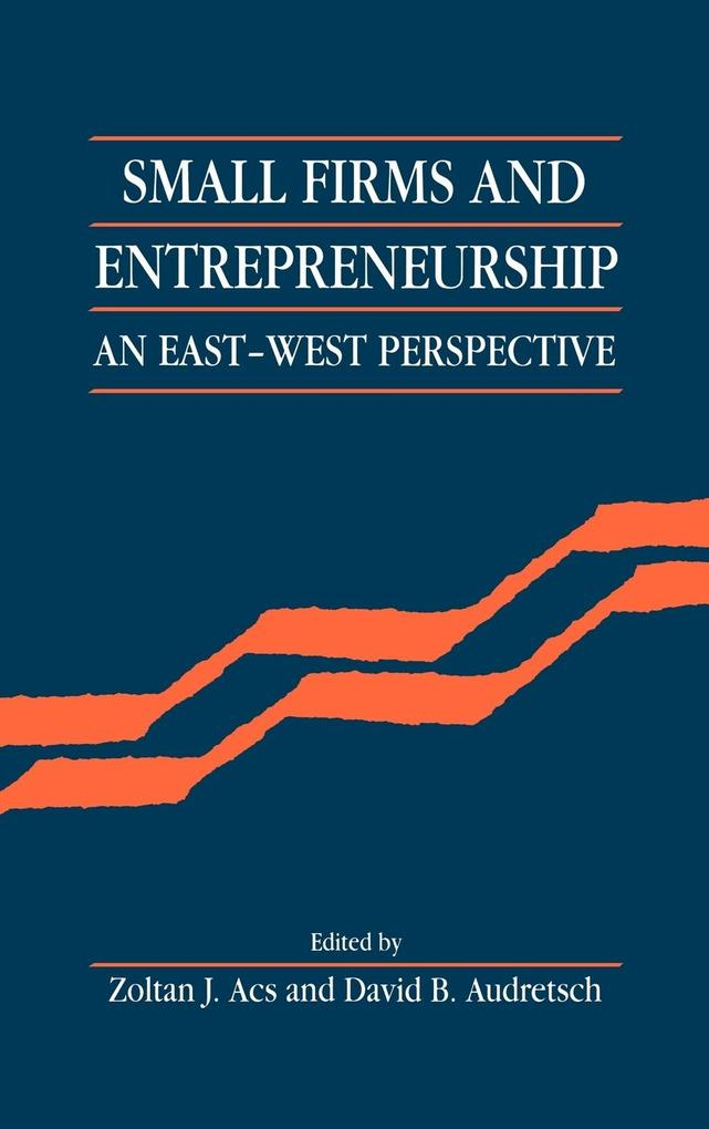 Small Firms and Entrepreneurship: An East-West Perspective als Buch