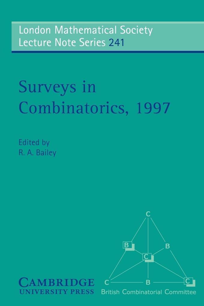 Surveys in Combinatorics, 1997 als Buch