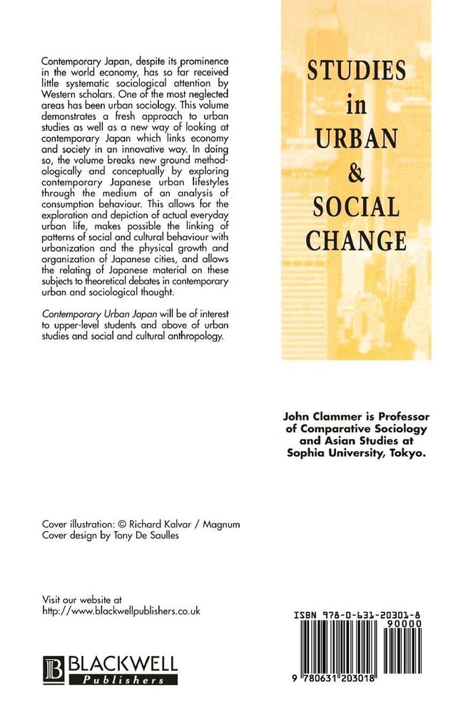 COMTEMP URBAN JAPAN als Buch