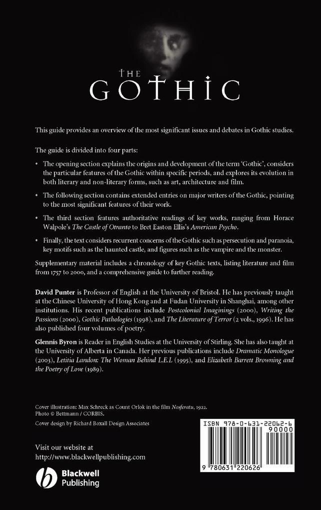 Gothic als Buch